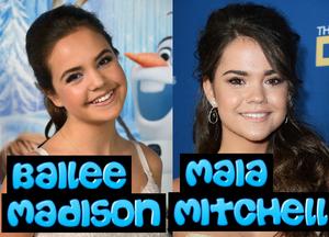 Bailee Madison Looks Like Maia Mitchell