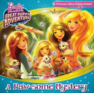 Barbie & Her Sisters in The Great anjing, anak anjing Adventure Book!