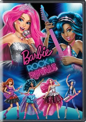 Barbie in Rock 'N Royals - DVD Disc