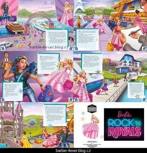 Barbie in Rock'n Royals Czech Book 2 - Preview!!!