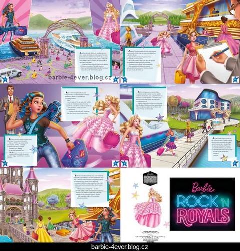Barbie Rock N Royals Wallpaper: Barbie Movies Images Barbie In Rock'n Royals Czech Book 2