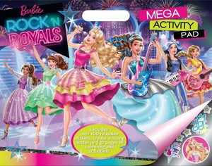 Barbie in rock´N royals buku