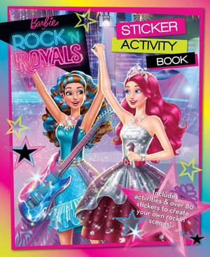 Barbie in rock´N royals books
