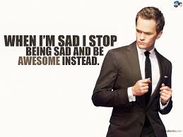 How I Met Your Mother wallpaper containing a business suit, a suit, and a well dressed person entitled Barney quote
