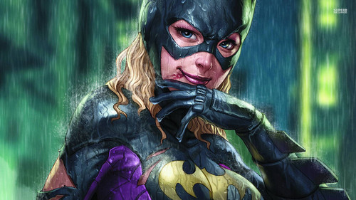 batman wallpaper possibly with a surcoat, a tabard, and a penembak dgn senapan titled Batgirl