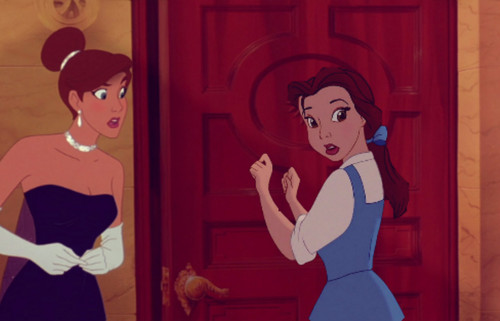 disney crossover wallpaper probably containing a sign called Belle anastasia