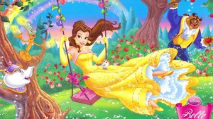 Belle Swinging वॉलपेपर