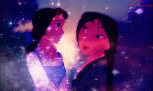 Belle and Mulan