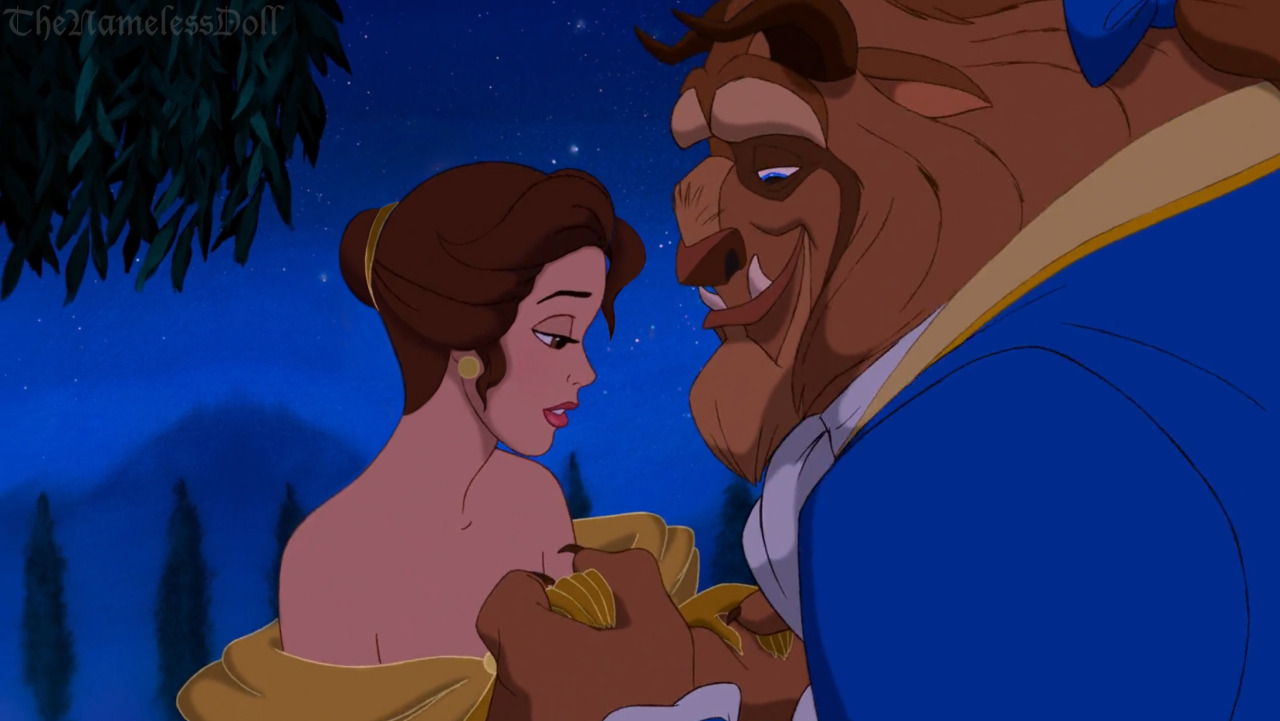 Belle with short hair