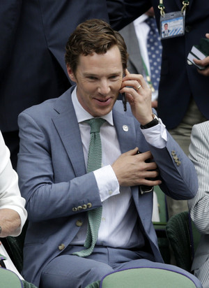 Benedict at Wimbledon