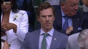 Benedict at Wimbledon