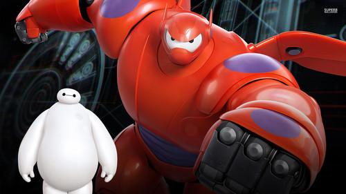 ডিজনি দেওয়ালপত্র titled Big Hero 6