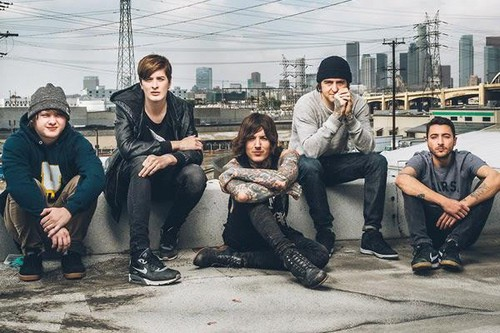 Bring Me The Horizon پیپر وال probably with a green beret, a spearfish, and an atlantic herring titled Bring Me The Horizon