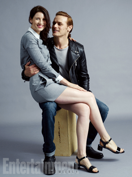 Caitriona Balfe and Sam Heughan