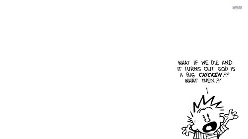 Calvin & Hobbes वॉलपेपर entitled Calvin