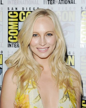 Candice at San Diego Comic Con 2015