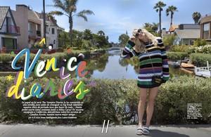 Candice for Fashionisima Magazine