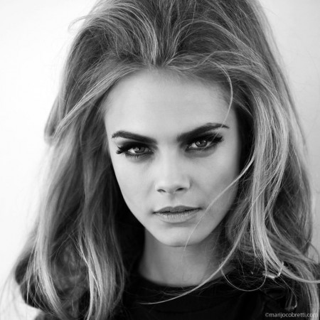 Selena_01 wallpaper containing a portrait called Cara Delevingne