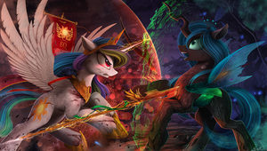 Celestia vs Chrysalis