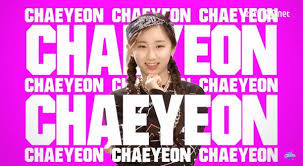 Twice (JYP Ent) پیپر وال containing a portrait called Chaeyeon