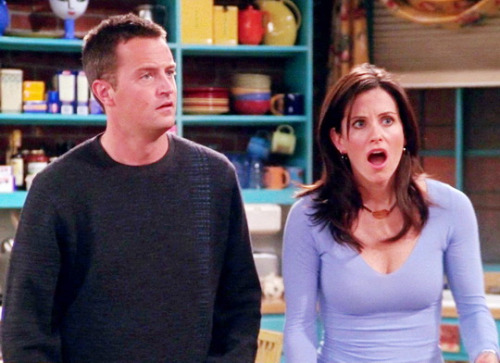 Chandler and Monica
