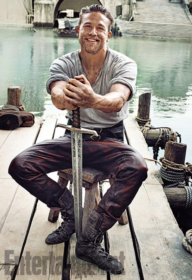 Charlie Hunnam Entertainment Weekly Photoshoot July 2015