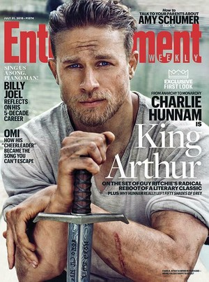 Charlie Hunnam on the cover of Entertainment Weekly - July 31, 2015