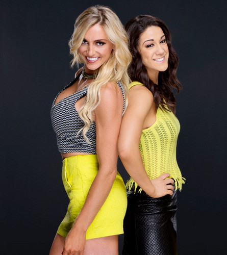 WWE Divas achtergrond called charlotte and Bayley