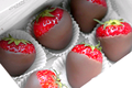 cokelat Covered Strawberries