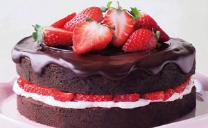 चॉकलेट स्ट्रॉबेरी, स्ट्राबेरी Cake