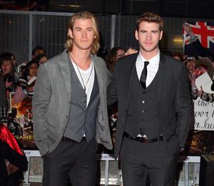 Chris and Liam