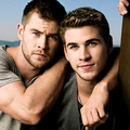 Chris and Liam