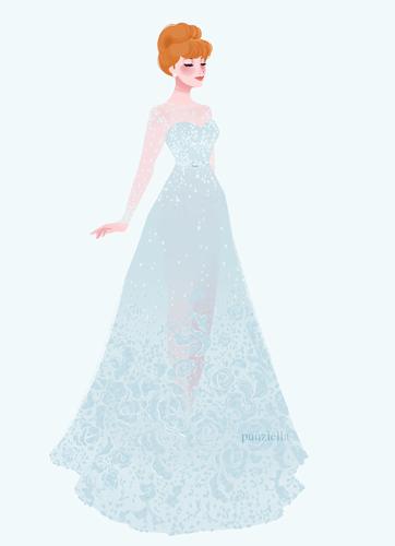 ডিজনি Extended Princess দেওয়ালপত্র called সিন্ড্রেলা