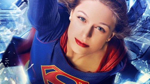 Supergirl (2015 TV Series) hình nền probably containing a portrait titled Comic Con hình nền
