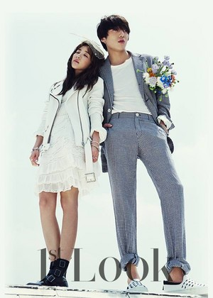DARA, KANG SEUNG YOON X 1stLook Magazine ছবি Shoot