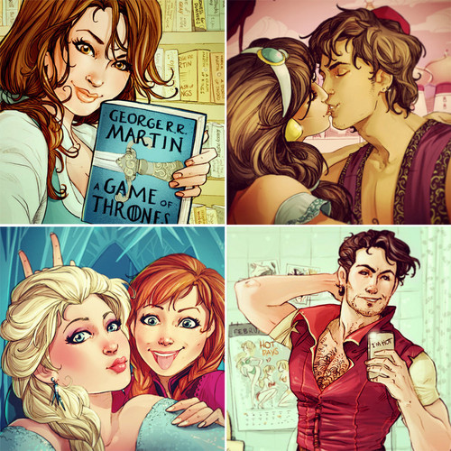 princesas de disney fondo de pantalla with anime entitled DP fan Art