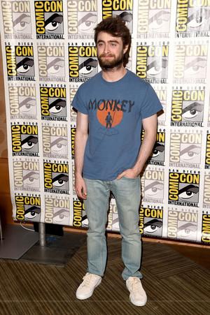 Daniel Radcliffe at Comic-Con International 2015 (Fb.com/DanieljacobRadcliffeFanClub)