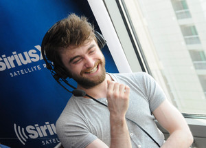 Daniel Radcliffe at SIRIUS XM EW Radio Comic-Con 2015 (Fb.com/DanieljacobRadcliffeFanClub)