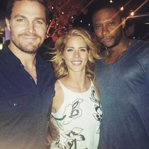 David, Stephen and Emily @ SDCC 2015