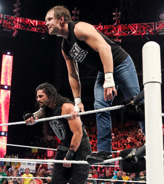 Dean Ambrose And Roman Reigns Images Dean And Roman Raw July 20