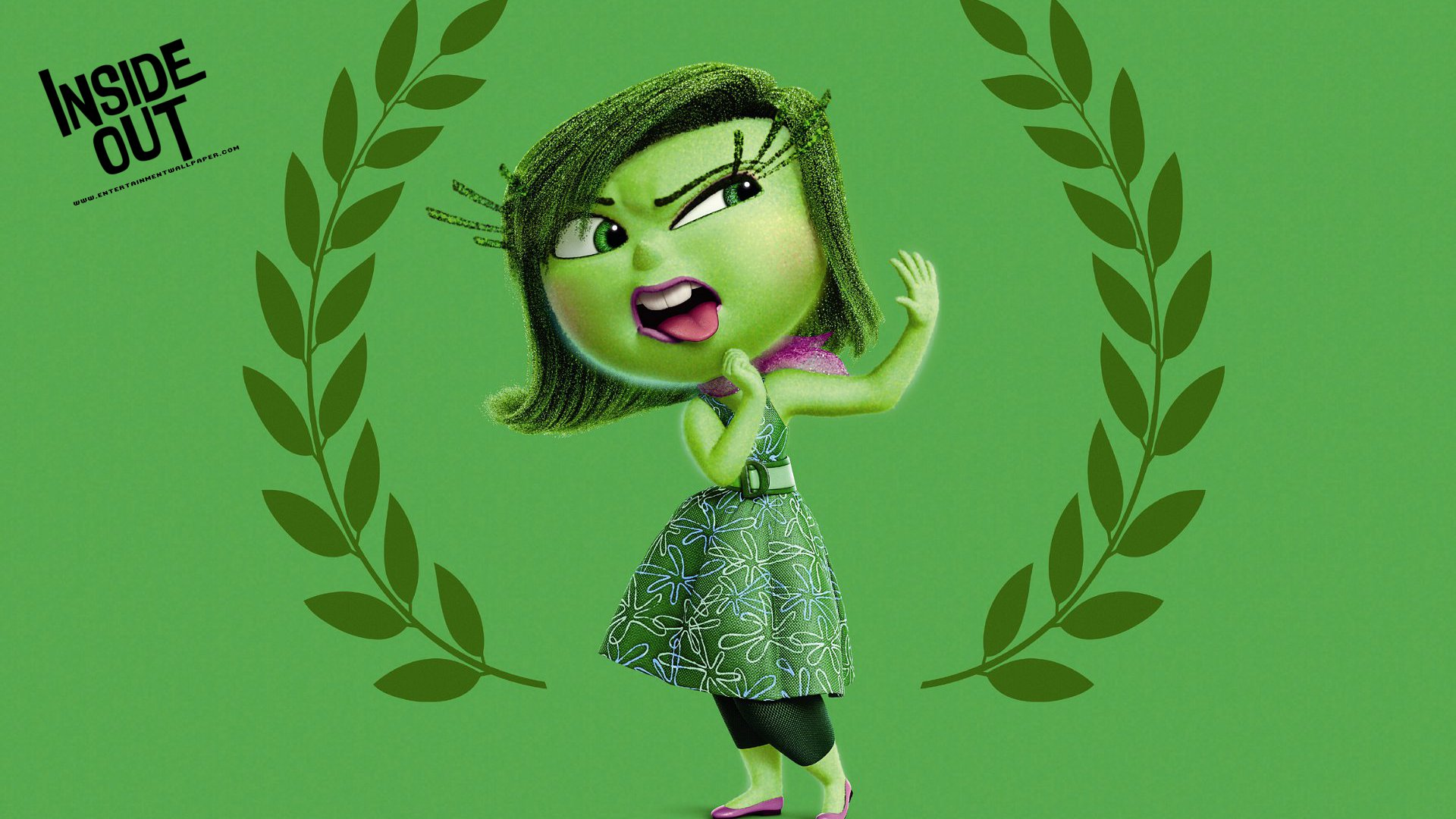 Disgust inside out images disgust wallpaper hd wallpaper and