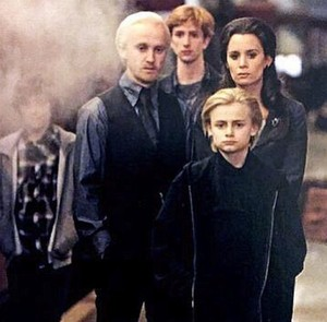 Draco Malfoy and family