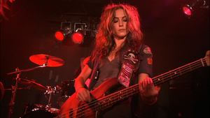 Drea de Matteo as Tracy in 'Prey for Rock and Roll'