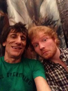Ed and The Rolling Stones