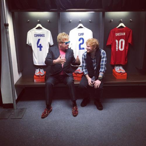 Ed at Wembley