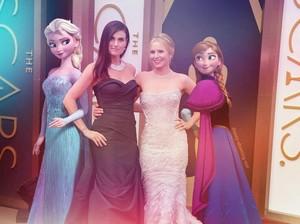 Elsa, Idina, Kristen, Anna