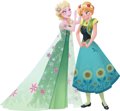 Frozen Fever Hintergrund possibly with a bouquet called Elsa and Anna