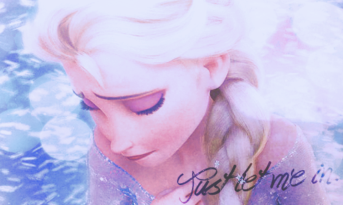 Frozen wallpaper possibly with a portrait titled Elsa