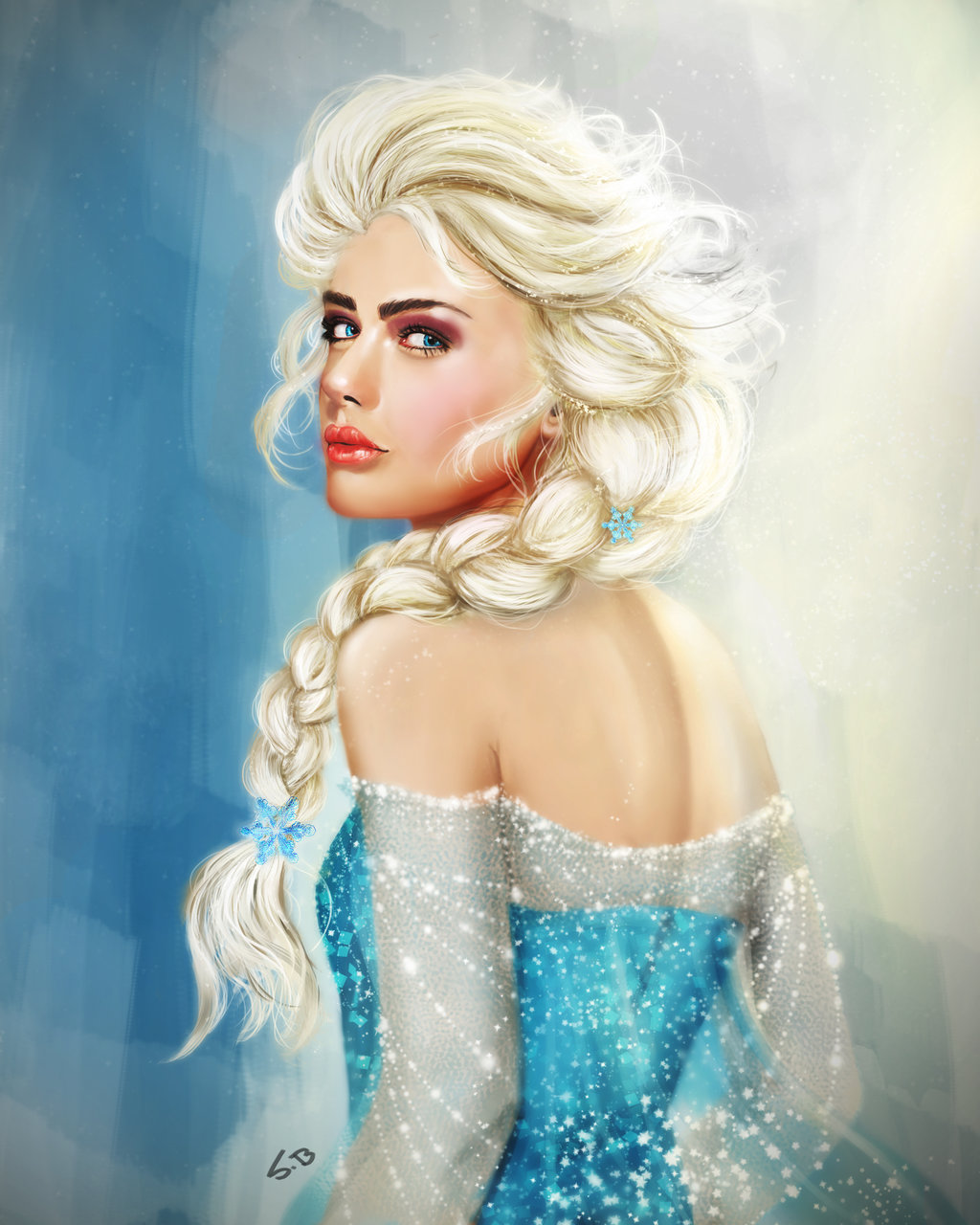 snow queen elsa frozen - photo #18