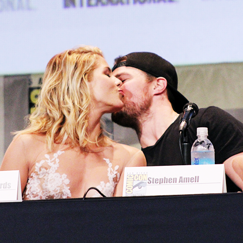 Emily and Stephen at SDCC 2015